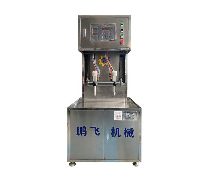 半自动双头油脂灌装机(小包)